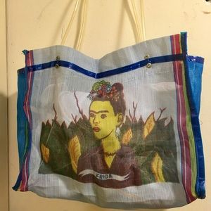 Handbags - Frida Kahlo Farmers' Market Tote Bag